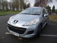 2010 PEUGEOT 207 S ESTATE 1.6HDI SH FULL MOT SUPERB XMAS PRESENT