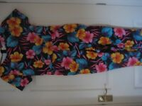 NEW W.T. ' boohoo ' CATSUIT WITH STRETCH - SIZE 12 - (Kirkby in Ashfield)