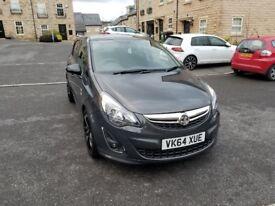 2014 Vauxhall Corsa 1.3 LIMITED EDITION CDTI ECOFLEX Diesel in Beautiful Grey