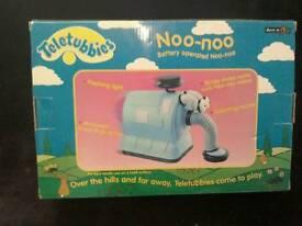Teletubbies Noo-Noo toy in perfect condition in original box