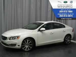 2014 Volvo S60 T6 *ONE OWNER LOCAL TRADE* *CERTIFIED* *LOW KM*