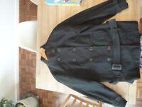 Next women's black winter coat