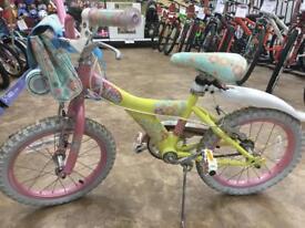 """Girl's Raleigh Bike 16"""" bike"""