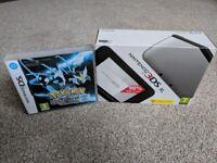 Nintendo 3DS XL + Pokemon Black 2 - Nearly New