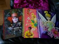 3 new Disney store A4 size paper books