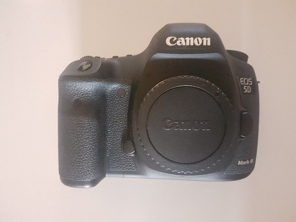 CANON EOS 5D Mark3 Camera Body DSLR Full Frame 22.3MP - Shutter ...