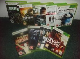 9 GAMES FOR XBOX 360
