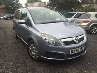 Vauxhall Zafira 1.6 i 16v Life 5dr *Low Miles 58,000* Lady Owner from 2009 *FREE 03-Months Warranty*