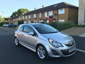 VAUXHALL CORSA SRI 2013 LOW MILAGE ONLY 31000 MILES