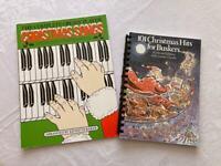 2 Christmas music books.