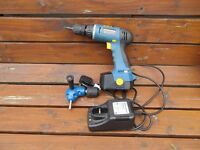 workzone cordless drill and charger