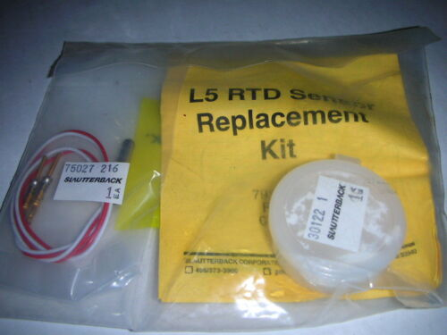 Slautterback Nordson Axco 79371 L5 RTD Sensor Replacement Kit NOS!!