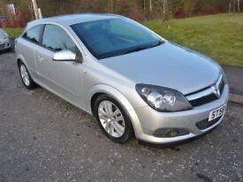 2008 Vauxhall Astra 1.6 i 16v SXi Sport Hatch 3dr Manual **40,000 miles**