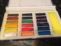 Watercolour paint / cake set