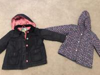 Girls Next coats (Age 3-4)