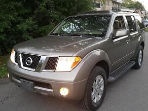 2007 Nissan Pathfinder 7SEATER LE DVD,LEATHER,SUNROOF,heated,CER