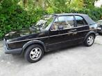 Oldtimer VW Golf1  1981 cabriolet -  restauratieobject
