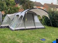 Outwell Montana 6P Tent + Canopy