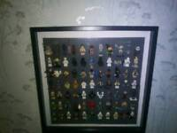 Star Wars lego figure display