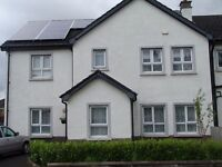 4 bedroom semi detached house for rent in Mountsandel Coleraine unfurnished, Large Garden