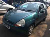 Ford KA 2000 1.3 Petrol Green 3dr - breaking for spares - wheel nut