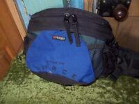 Vango fold out back pack waist bung bag cycling walking hiking