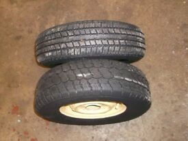 CLASSIC MINI 10 INCH WHEELS WITH TYRES