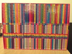 Box set of rainbow magic books