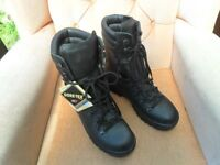 ARMY MILITARY BLACK BOOTS - SIZE 10 M - NEW WITH TAGS