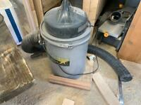 Wood star chip extractor+ extra hose and adapters
