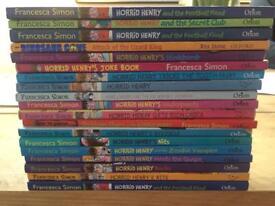 19 x Horrid Henry Books