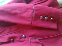 Red coat size 12 fits more like 10 la redoute