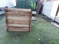 compost bin.