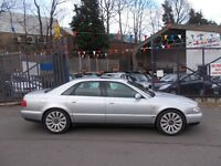 Audi A8 2.8 Sport 4dr EXTREMELY LOW MILEAGE