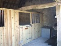 timber OSB3 boards ply 3x2 wood TGV plank shuttering shiplap shed stable field shelter