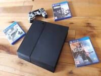 Sony Ps4 1TB and games