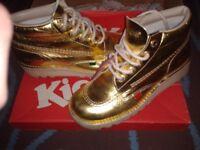 Limited edition gold kickers