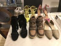 Various Ladies shoes sizes 7 and 8