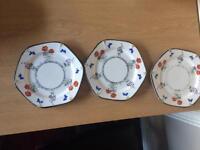 Field Poppy plates X 3