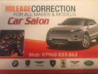 Mileage correction Mobile service