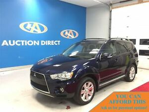 2011 Mitsubishi Outlander XLS, 7PASSENGER, LEATHER, HEATED SEATS