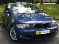 £0 DEPOSIT FINANCE*** BMW 1 Series 2.0 116i M Sport 5dr ***HIGH SPEC**FREE AA WARRANTY** PX WELCOME