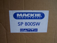 Job Lot of 4 new, never used Mackie, Sp800 W, 100v Line, compact subwoofer (bass bin) Speakers
