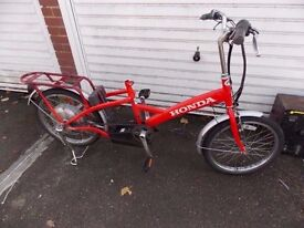 HONDA KUSHI ELECTRIC BIKE FOR SPARES OR REPAIR EASY PICK UP COST £600...RIDE HOME