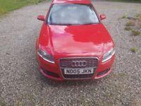 audi a4 sline T FSI 2.0L red,stunning car