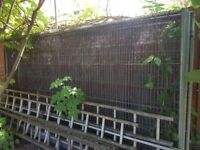8 Metal Fences with steel mesh