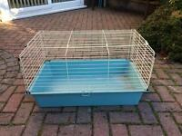 Small indoor rabbit / guinea pig cage