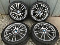 Bmw 3-4 series 19 inch alloy wheels m sport