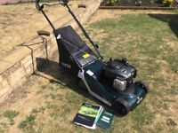 Hayter Spirit 41 Petrol Lawnmower Self Propelled 2015 Model As New Condition Fully Serviced