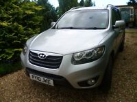 Hyundai Santa Fe CRDi 7 seat Premium. FSH. 1 lady owner from new. excellent condition.